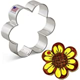 Ann Clark Cookie Cutters Scalloped Edge/Flower Cookie Cutter - 3.8 Inches - Us Tin Plated Steel.