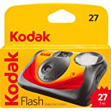 Kodak Fun Saver Single Use Camera, Capture your memories! (27 Exposures)- 8053415, Red/black
