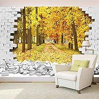 カスタム3D壁紙自然風景3D写真の壁紙リビングルームのテレビの背景壁画の壁紙家の装飾,430cm×300cm