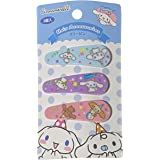 Sanrio Cinnamonroll Hair 3-pin Accessories Barrette Blue Purple Pink 3pcs Set