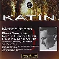Mendelssohn: Piano Concs 1 & 2