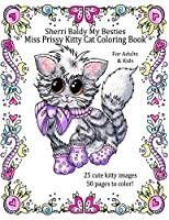 Sherri Baldy My Besties Miss Prissy Kitty Cat Coloring Book