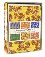 Chiyogami Note Cards: 12 Blank Note Cards & Envelopes