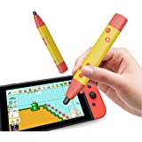 IFYOO Capacitve Stylus Touch Pen, Pen Shape Switch Game Controller for Super Mario Maker 2, Dr Kawashima's Brain Training, To