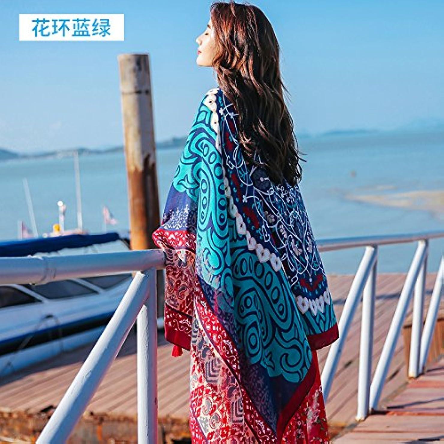 悪因子適応的服を洗うスカーフが包む紫色の緑の細いカレッジ風のスカーフの旅行は、暖かい中国のバレンタインデーのスカーフの国民の風の老人を保つために旅行