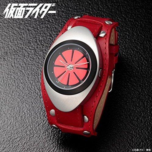 仮面ライダー1号 変身ベルト型腕時計 レッド プレミアムバンダイ