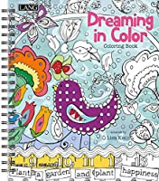 Lang Dreaming In Colour Colouring Book by Lisa Kaus