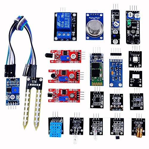 OSOYOO(オソヨー) DIY センサーモジュール キット 常用20個 f...