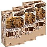 森永 チョコチップクッキー(2枚パック×6袋) 12枚×3箱