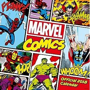 Marvel Comics Classic Official 2018 Calendar - Square Wall Format (Calendar 2018)