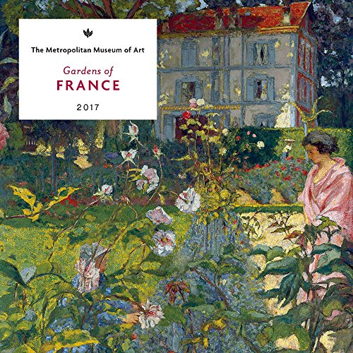 Gardens of France 2017 Mini Wall Calendar