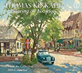 Thomas Kinkade Painting on Location 2018 Deluxe Wall Calendar