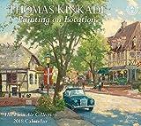 Thomas Kinkade Painting on Location 2018 Deluxe Wall Calendar