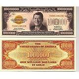 Ronald Reagan (dollars)Million Dollar(dollars) Thanks a Million Novelty Bill Collectible