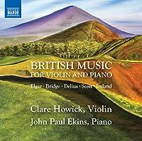 ヴァイオリンとピアノのためのイギリス音楽集