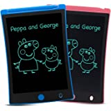 ORSEN LCD Writing Tablet 2 Pack, 8.5-inch Writing Board Doodle Board Drawing Pad with Newest LCD Pressure-Sensitive Technolog