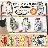 世にも不思議な猫世界 猫の何とも愉快な姿ポーチ 全6種セット ガチャガチャ