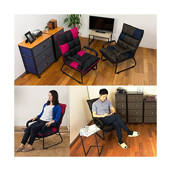 【セット買い】脚付き座椅子 HCH2-BKRD...の紹介画像7