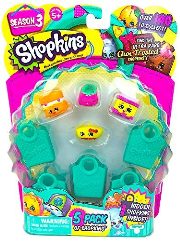 Shopkins Season 3 (5 Pack) Set 26 by Moose Toys [並行輸入品]