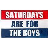 oxpecker Saturdays are Boys Flag, 3x5 Feet Saturdays Flag, Outdoor Indoor Dorm Room Decoration Banner for College Football Fr
