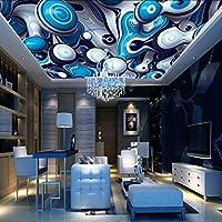 Sproud 3 D ウォールペーパービンテージ装飾的な絵画 3 D 壁紙天井星空の背景ホーム改善 3 D リビングルーム 200 Cmx 140 Cm 壁紙の