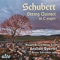 Schubert: String Quintet in C Major; Mozart: Divertimento in D by Bruno Schrecker