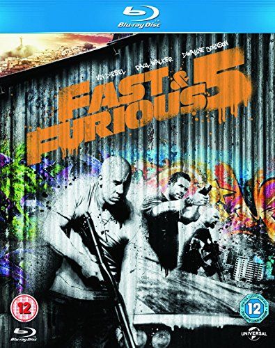Fast & Furious 5 [Screen Outlaws Edition] [Blu-ray] [Import]