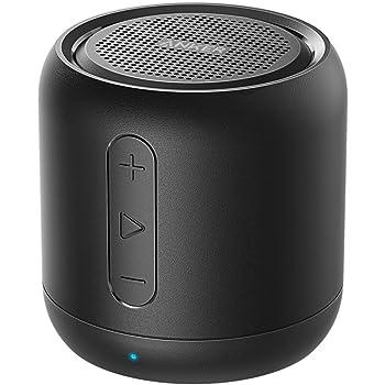 Anker SoundCore mini (コンパクト Bluetoothスピーカー) 【15時間連続再生 / 内蔵マイク搭載/micro SDカード & FMラジオ対応】(ブラック)