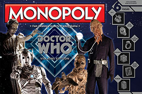 『Monopoly: Doctor Who Villains Edition』のトップ画像