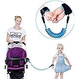 迷子防止紐 子供の反ロストロープアンチロスト手首のリンク幼児のリーシュの安全ハーネス赤ちゃんのストラップロープの屋外ウォーキングハンドベルトバンドアンチロストのリストバンドの子供