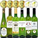 シニアソムリエ厳選 直輸入 全て金賞フランスボルドー 辛口白ワイン6本セット((W0SK05SE))(750mlx6本ワインセット)