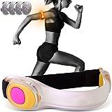 OnePro LEDアームバンド 夜間スポーツ用 予備用電池4個付属 ランニング ウォーキング ジョギング キャンプ 夜釣り 散歩 自転車走行 アクセサリー 安全確保 反射 フラッシュ 高輝度 led リストバンド ライトベルト セーフティライト 夜