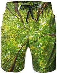メンズthe Tops Of Trees ビーチパンツ 水着 ハーフスイムウェアサーフパンツ ボードショーツ 水陸両用 吸汗速乾