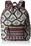 [ボルコム] 男女兼用 デイパック 18L (ネイティブ柄) 【 E6531606 / Global Chic Backpack 】 E6531606 BLK BLK_ブラック
