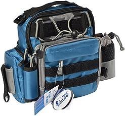 ILURE 多機能 アウトドアや釣りに最適 ウエストバッグ (レッグポーチにもウェスト、肩斜め掛けなど多様な使用が可能)