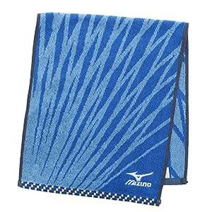 フェイスタオル ミズノ H8002 ブルー 約34×80cm FH800201