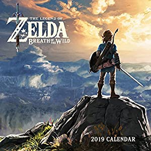 Legend of Zelda: Breadth of the Wild 2019 Wall Calendar
