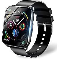 スマートウォッチ 【1.69インチ大画面 3色ベルト付き】 2021最新版 Bluetooth5.0 ストップウォッチ…