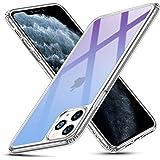 ESR iPhone 11 Pro Max ケース【日本旭硝子製 9H硬度加工】 強化ガラス+TPUバンパーアイホン 99%透明度 薄型 黄変防止 安心保護 耐衝撃 ワイヤレス充電対応 安心保護 ストラップホール付き 6.5インチ iPhone 11