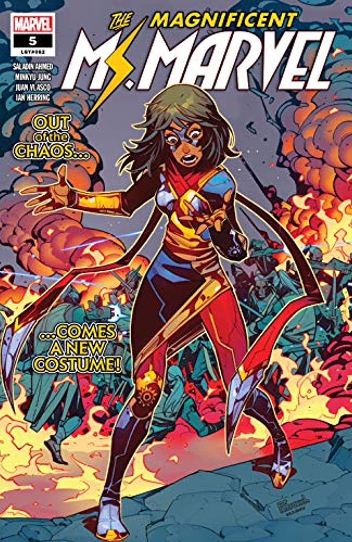 プット乗り出すガラスMagnificent Ms. Marvel (2019-) #5 (English Edition)