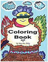 Coloring Book: by Mara Ann Shirley