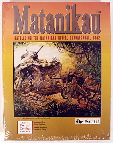 TheゲーマーMatanikau Battles on the Matanikau川、Guadalcanal、1942