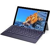 TECLAST X4 タブレット、2 in 1 ノートPC 、薄軽ノートパソコン、8GB+256GB、11.6インチ 1920*1080 IPS 、小型パソコン、Windows 10、Intel N4100、デュアルWiFi、カメラ2.0MP/5.0MP、Micro HDMI、BT4.2(キーボードは含まれません)
