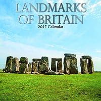 Beautiful Scenic Landmark Photographs of Britain England 2017 Monthly Wall Calendar 12 x 12 [並行輸入品]