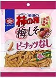 亀田製菓 亀田の柿の種梅しそ100% 105g×12袋