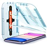 Spigen EZ Fit Tempered Glass Screen Protector for iPhone 11 and iPhone XR - 2 Pack
