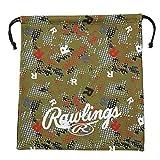 ローリングス(Rawlings) 野球用 グラブ袋Rドット EAC11S02 ゴールド サイズ 40X34.5cm