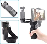 iEago RC Mini Handheld Z Axis Stabilizer Anti-Shake Anti Shock Vlog Monopod with Carrying Case Smartphones Holder Portable St