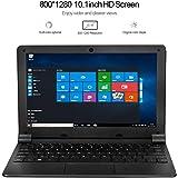 [HSW] 10.1インチWindows 10超薄型ラップトップPC-2GB RAM 32GBストレージ、Intel Quad Core 1.44Ghz USB 3.0/WiFi/HDMI/Bluetooth/128GB tf-Cardノートブックコンピューターをサポート