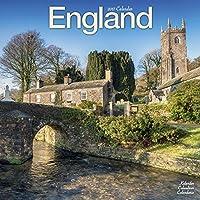 England Calendar 2017 (Square)